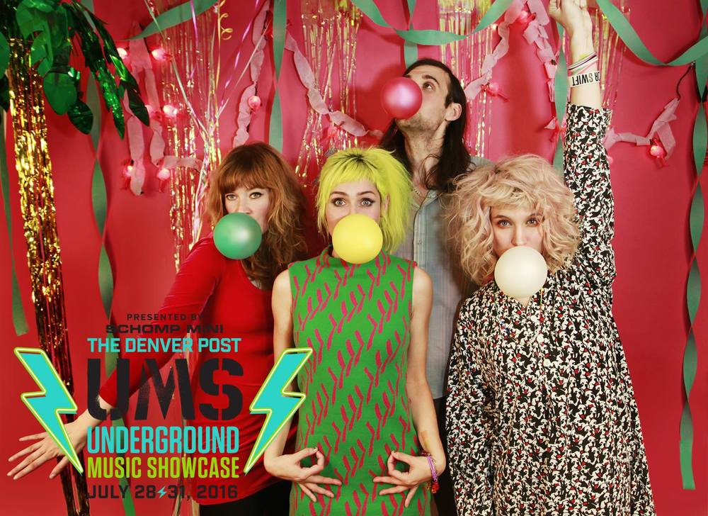 Tacocat, one of the national acts on This Year's UMS Lineup.