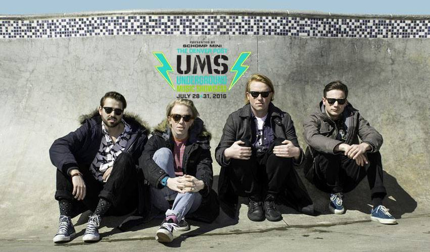 Slow Caves, one of the local acts on this year's ums lineup.