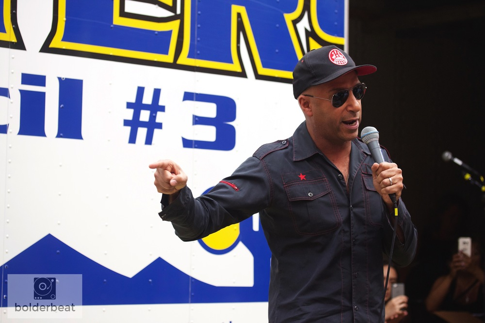Tom Morello. Photo Credit: Sierra Voss
