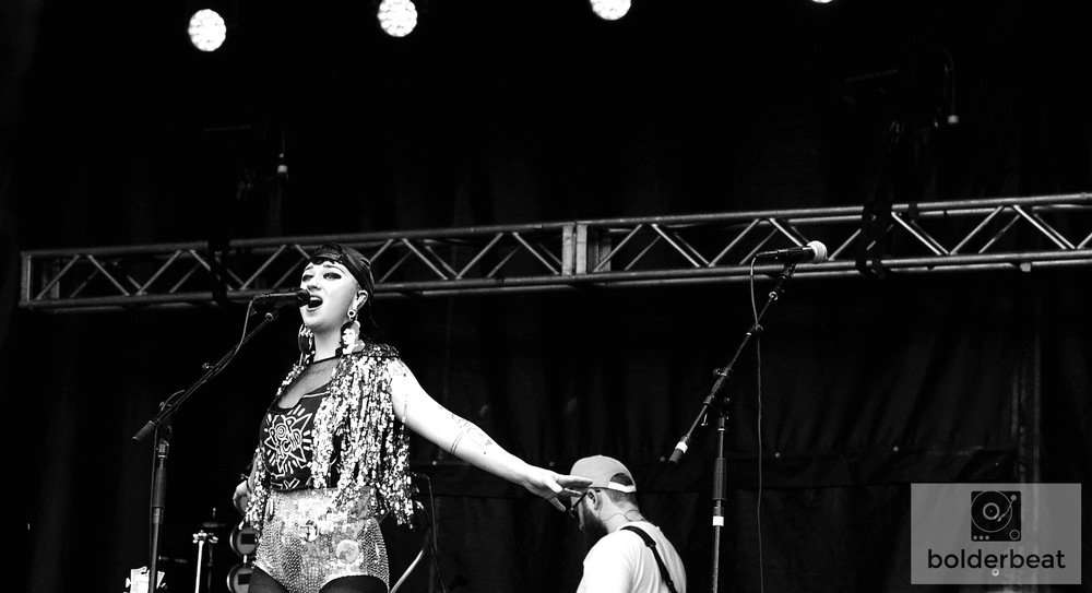 Hiatus Kaiyote at Vertex Festival.