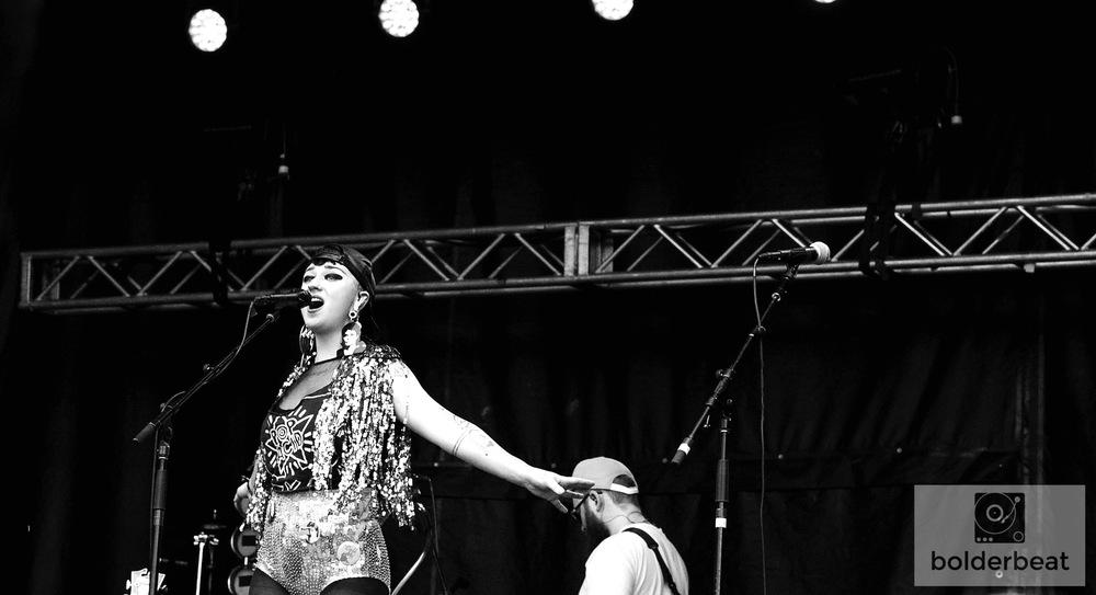Hiatus Kaiyote at Vertex Festival.