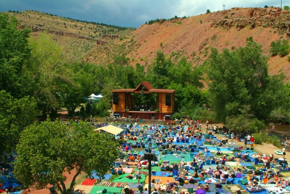 Rocky Mountain Folks Festival in Lyons, CO.