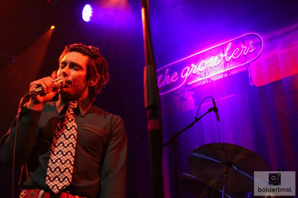 Brooks Nielsen of The Growlers. Photo Credit: Hannah Oreskovich