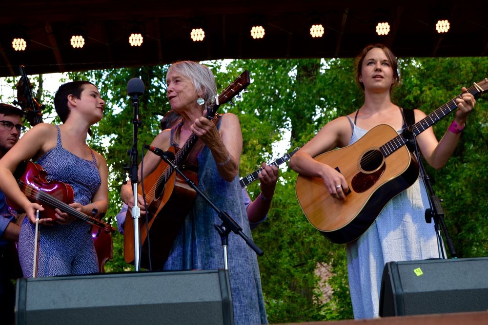 Laurie Lewis' band featured Tatiana Hargreaves (fiddle) and guest performer Courtney Hartman (guitar).jpg