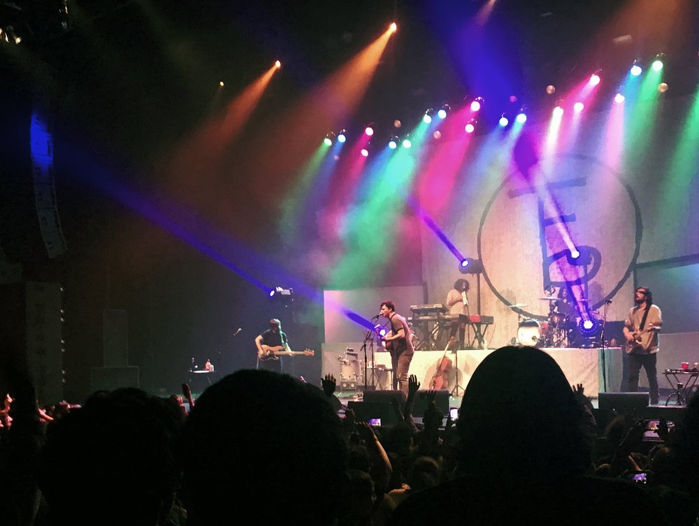 The Front Bottoms at The Wiltern. Photo per the author.