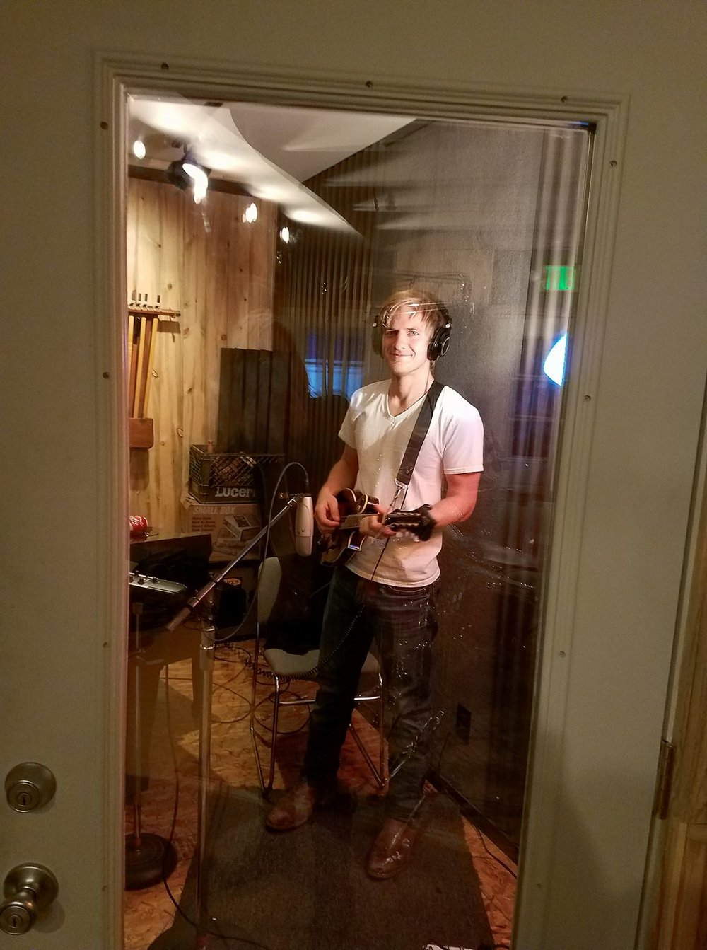 Michael Howard at Macy Studios.