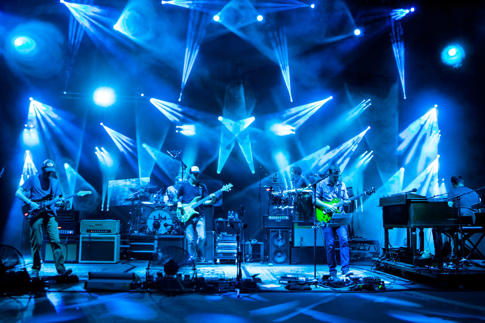 Umphrey's McGee at the Rocks. Photo Credit:   Cy Fontenot