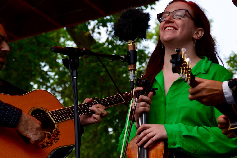 Jeff Scroggins _ Colorado_s Ellie Hakanson, 2016 Rockygrass Fiddle Champion, 2016 Arizona State Fiddle Champion, and 2017 IBMA Momentum Award Nominee on fiddle and vocals.jpg