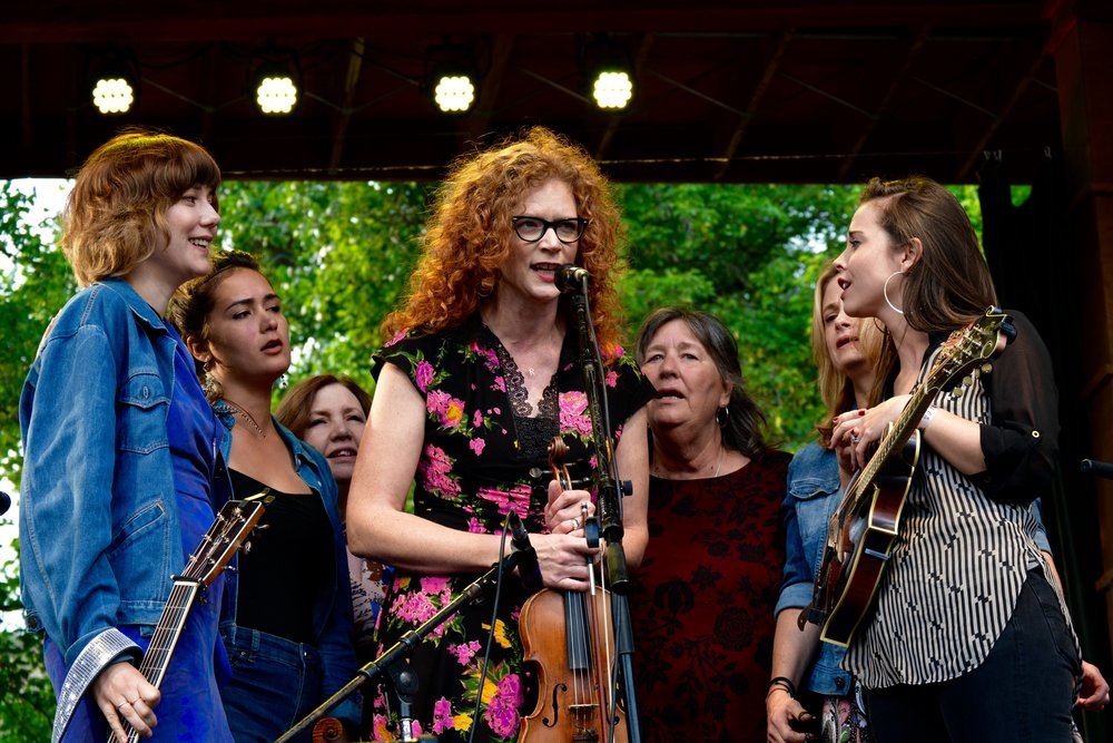 The First Ladies of Bluegrass.