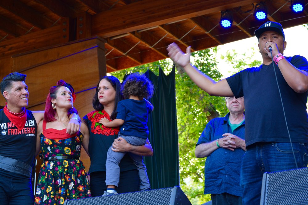 Las Cafeteras with the Latino Chamber of Commerce.jpg