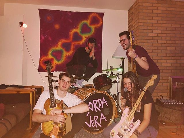 #Boulder's @cordavera are slaying the DIY scene- full details on their music + house party bangers at the link in our bio 🤘
