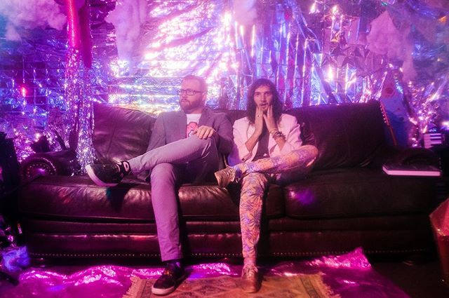 @levidoubleu & Reed Fox of @moonmagnet just dropped two new dance tracks with 7-year-old Foofy & next month they're dropping a music video for one of the singles with artists from @meow__wolf 👊 Take a listen on the site today 🕺🏻💃🏽 |📸: @juliannaphotography