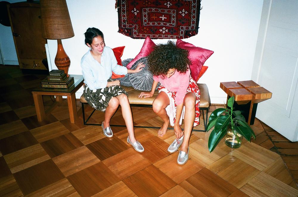 Catherina Selman and Nicole Zarhi Daccarett