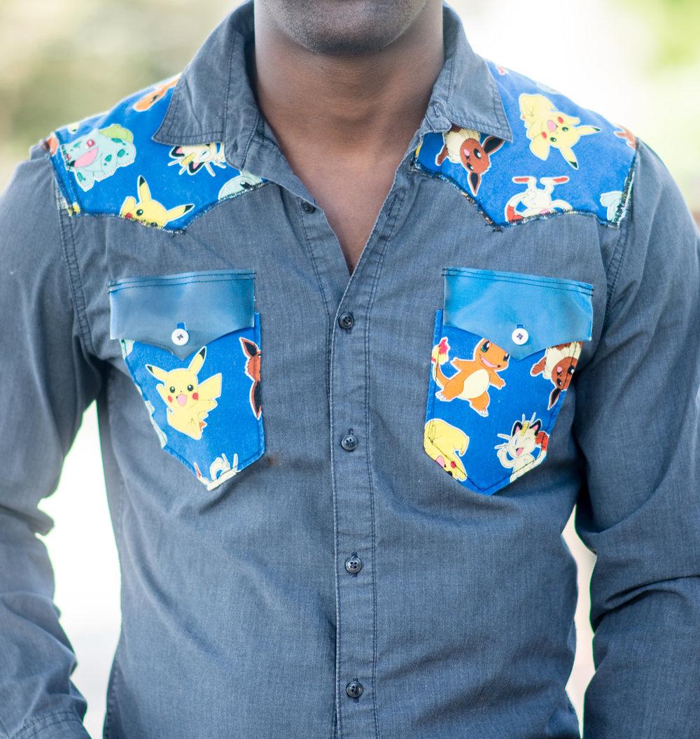 One of a Kind Pokemon Long-Sleeve Shirt