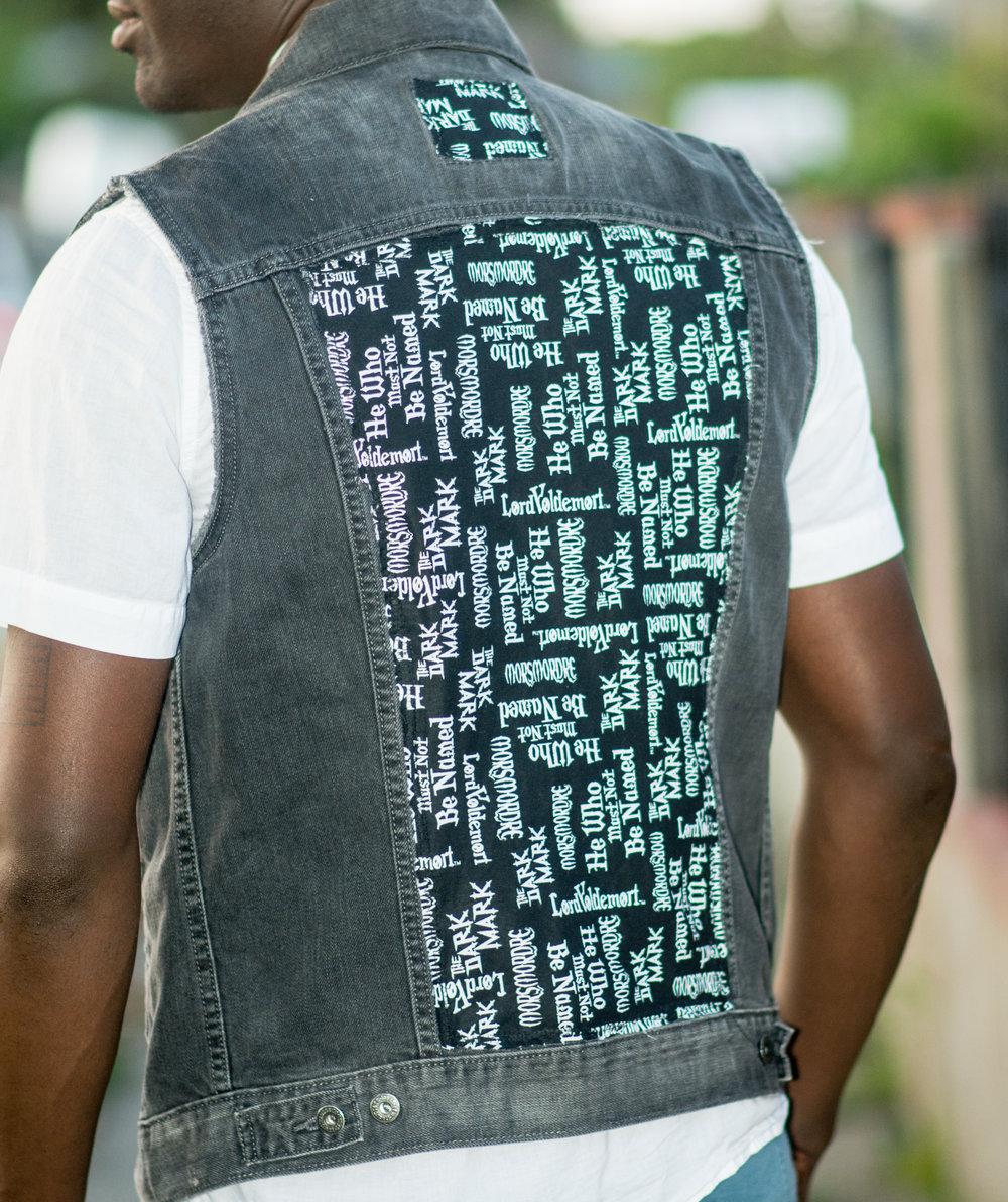 One Of A Kind Harry Potter Jean Vest