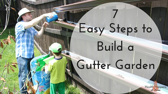 7 easy steps to build a gutter garden