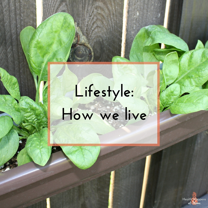 Lifestyle: How we live