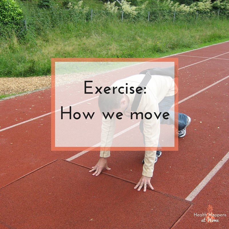 Exercise: How we move