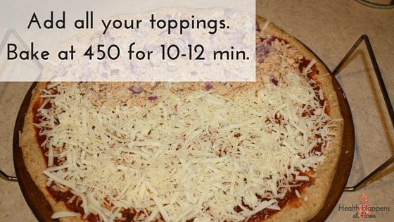 A healthier (EASY) homemade pizza. Read now or pin for later - Health Happens at Home
