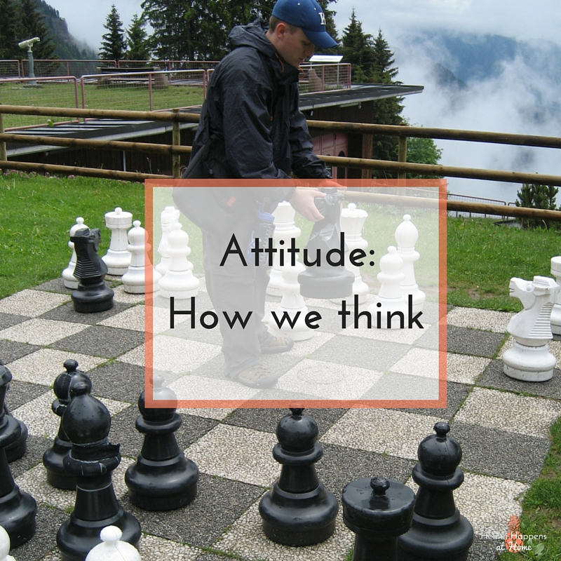 Attitude is the A is LEAN. Learn how attitude affects your wellness. Read now or pin for later. - Health Happens at Home