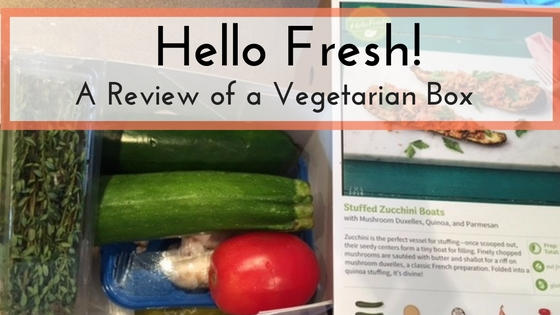 Not known Details About Hello Fresh Vegetarian Review