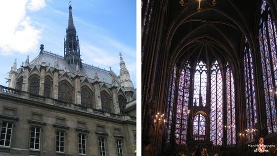 Sainte Chapelle - another beautiful cathedral!