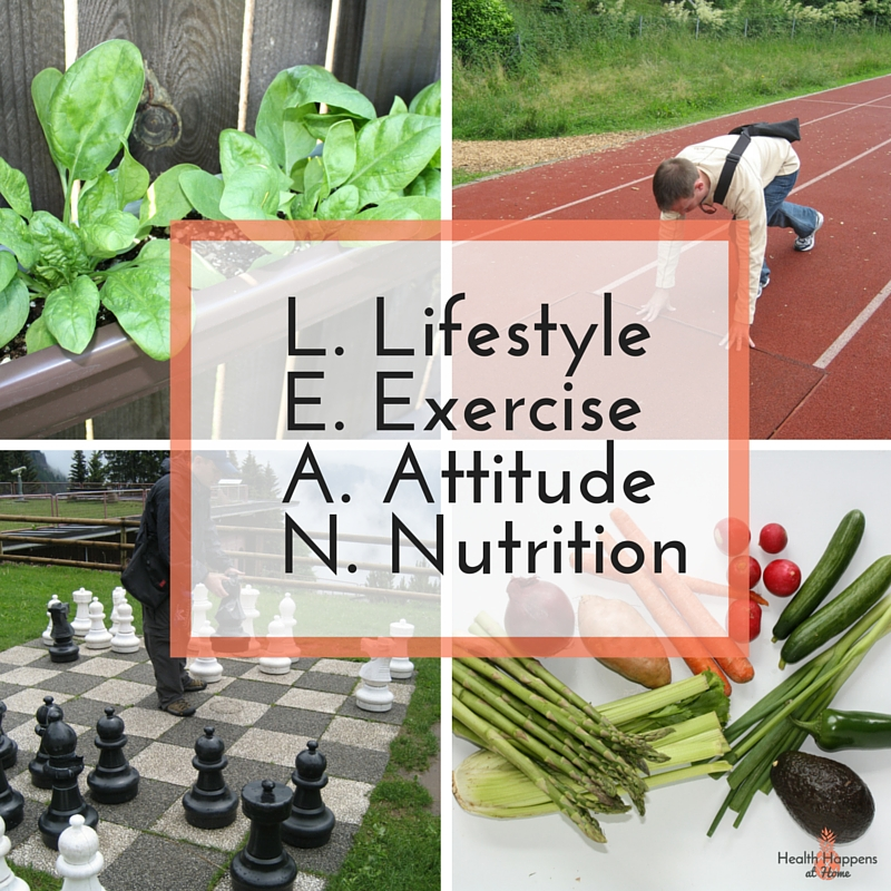 L.E.A.N. Living: the keys to a healthier life. Read now or Pin for later. - Health Happens at Home