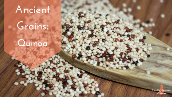Get the scoop on the nutritious ancient grain quinoa. Read now or pin for later. - Health Happens at Home