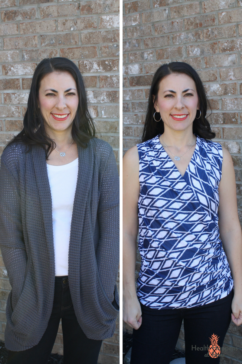 Stitch Fix: a review of my second fix. Read now or pin for later. - Health Happens at Home