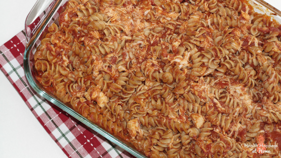 Baked pasta. Easy and budget friendly. Read now or pin for later. - Health Happens at Home