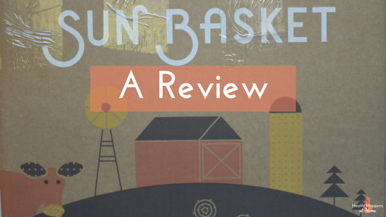 A review of the Sun Basket meal kit service. Read now or pin for later. - Health Happens at Home