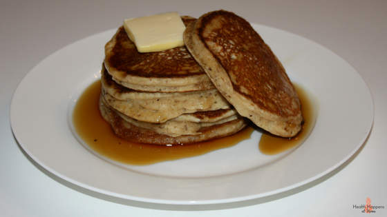 A Recipe Revamp of Pancakes! Read now or pin for later. - Health Happens at Home