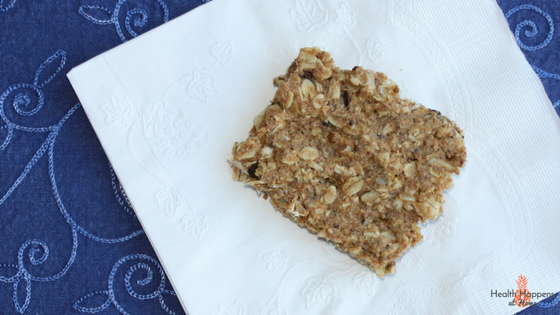 A recipe for chewy granola bars. Read now or pin for later. - Health Happens at Home