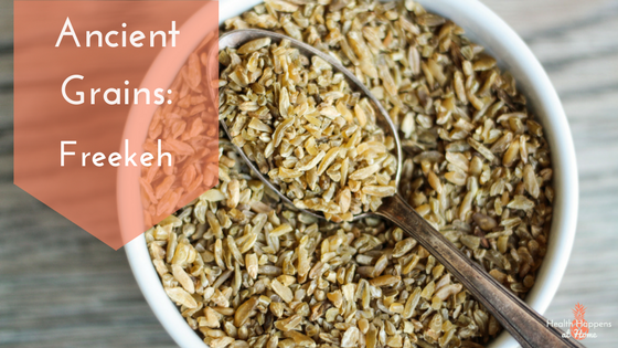 Get the facts on freekeh (an ancient grain). Read now or pin for later. - Health Happens at Home