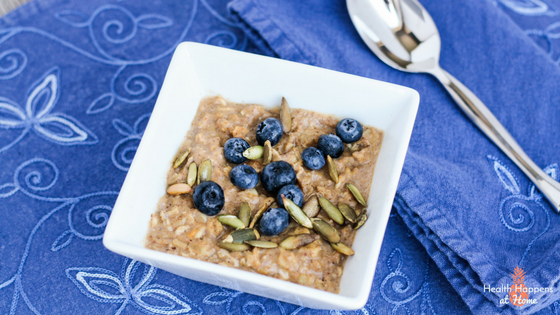 Amazing Oatmeal Recipe. Read now or pin for later. - Health Happens at Home