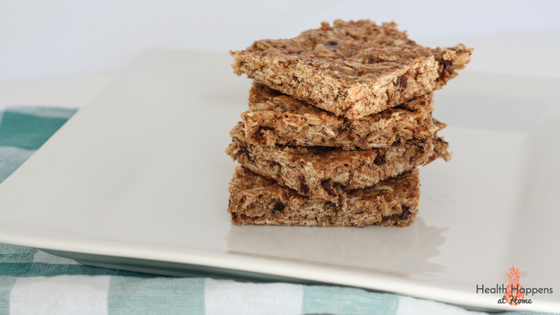 A chewy granola bar recipe. Adapt to your family preferences. Read now or pin for later. - Health Happens at Home