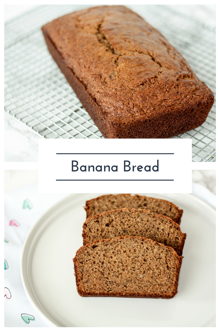 Banana Bread Recipe. Read now or pin for later. - Health Happens at Home #thereciperedux