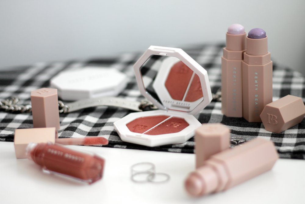 FENty beauty by rihanna - Having invested far too much money into limited edition beauty (read: MAC) products and hyped brands in the past, I'm hesitant to buy unless I've heard rave reviews from friends. But when Rihanna launches a beauty collection, that logic is thrown out of the window and a girl goes ham...