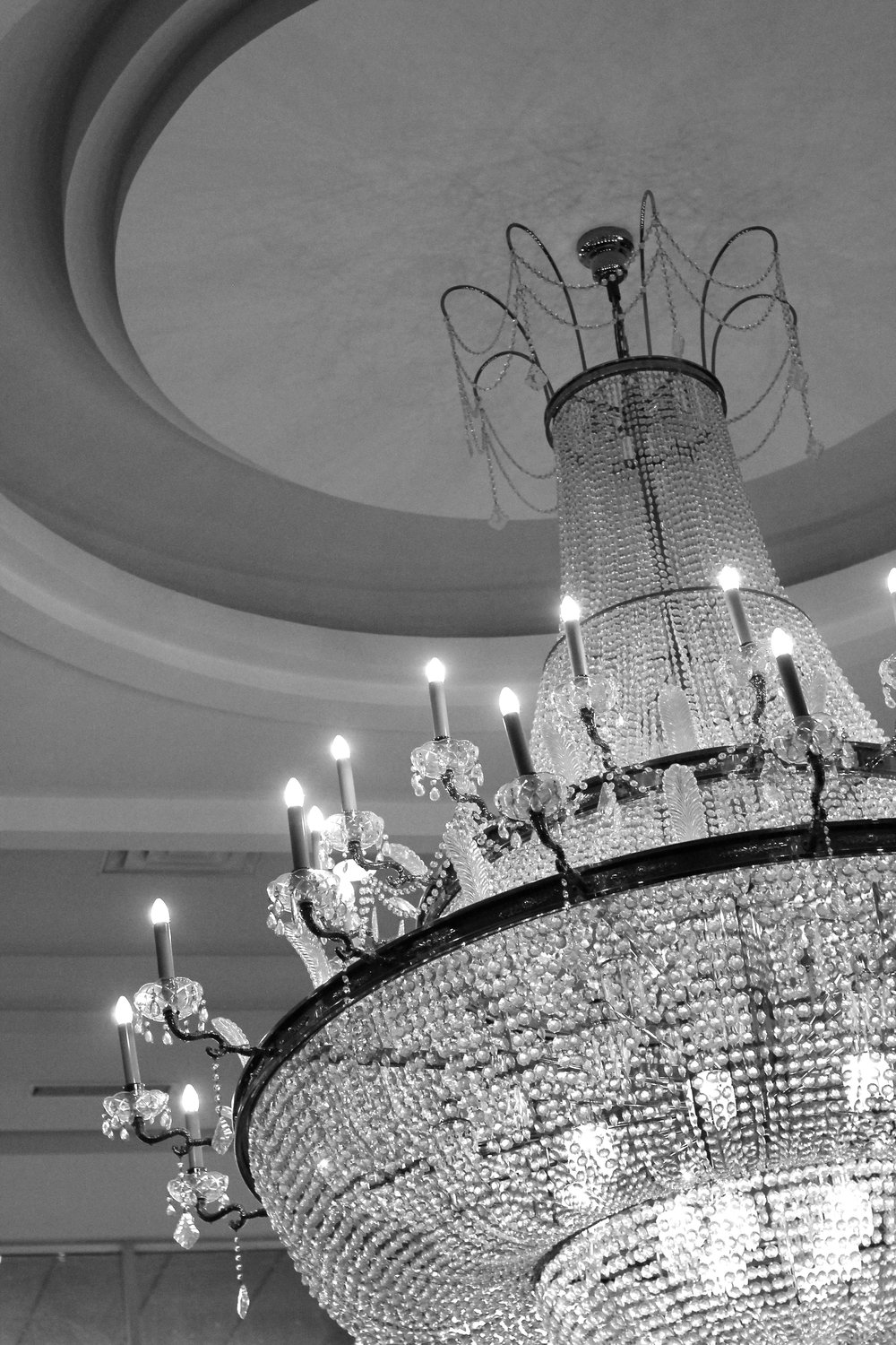 Chandelier in the Marriott Hotel  in Niagara Falls, ON Canada taken by Bratty B