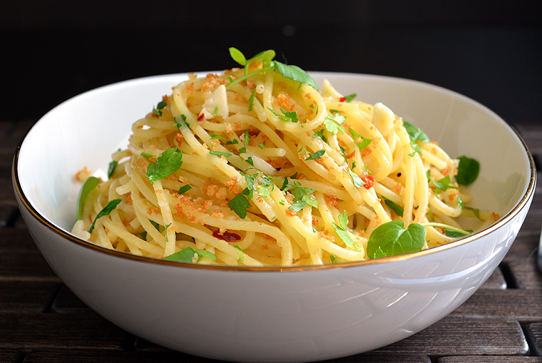 Truffle Butter Pasta recipe: easy pasta with black truffle butter and watercress