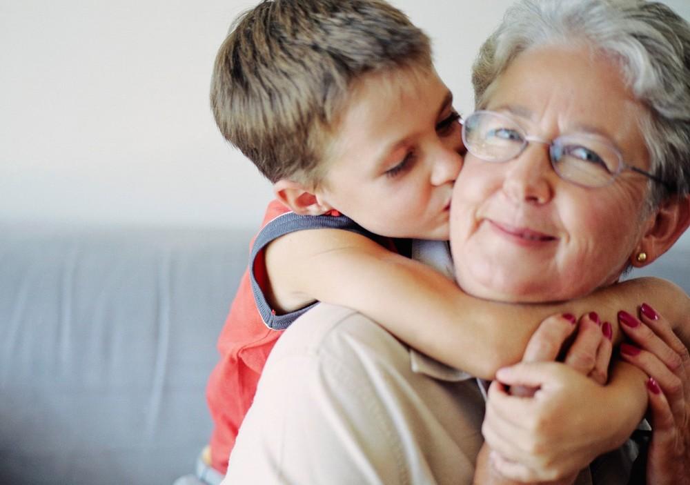 фото внук бабушка