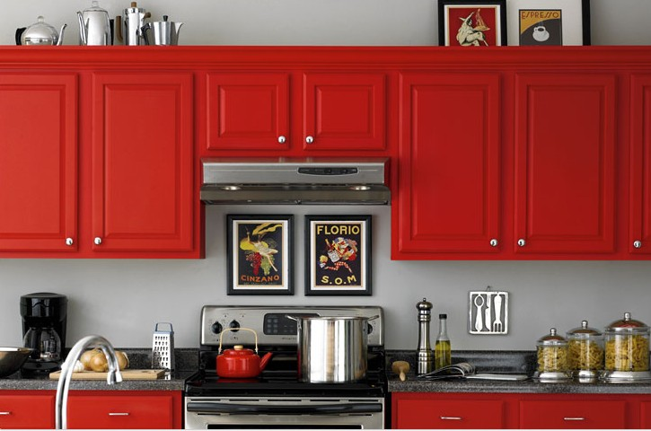 Painted-Kitchen-Cabinet