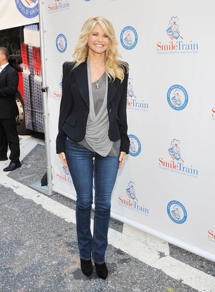 Christie Brinkley at Smile Train Event