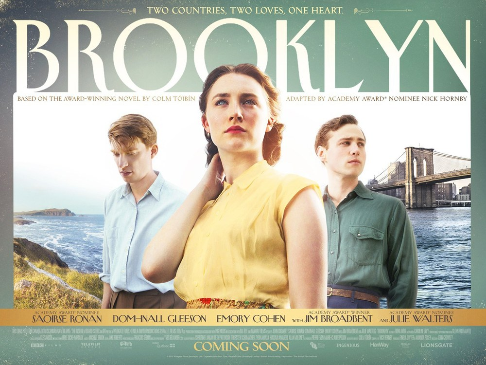 Movie Review for Brooklyn