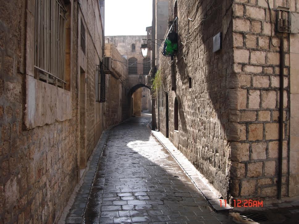 winding romantic streets of old Demascus.jpg