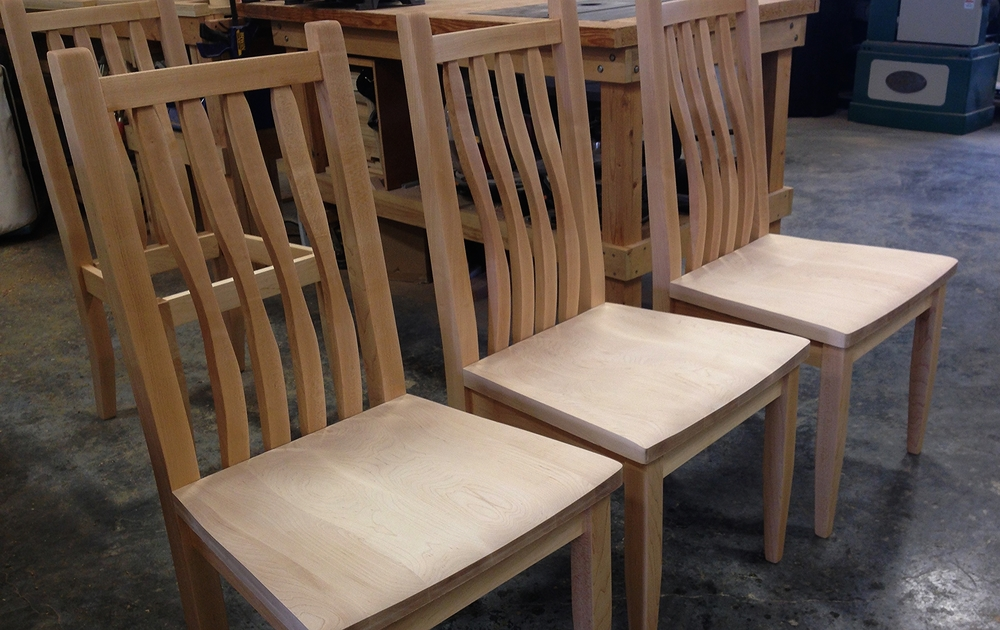 Maple Chairs In Process.JPG