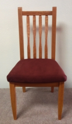 Cherry Neptune side chair front