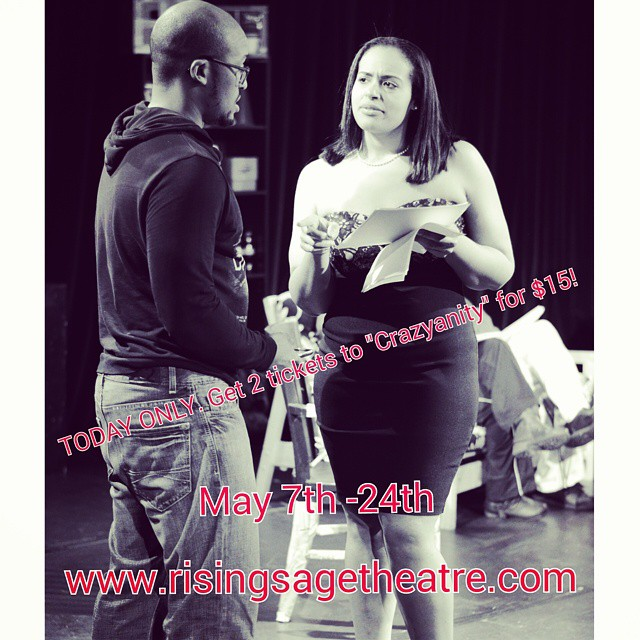 Get them now! https://www.eventbrite.com/e/crazyanity-a-comedy-by-paris-crayton-iii-may-7th-24th-tickets-16168839434?aff=eac2 #risingsagetheatre #comedy #Crazyanity #westend #humpdaysale