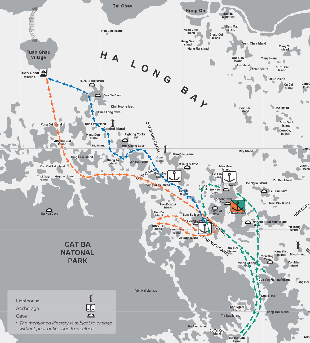 The Route - 3 Days 2 Nights Cruise