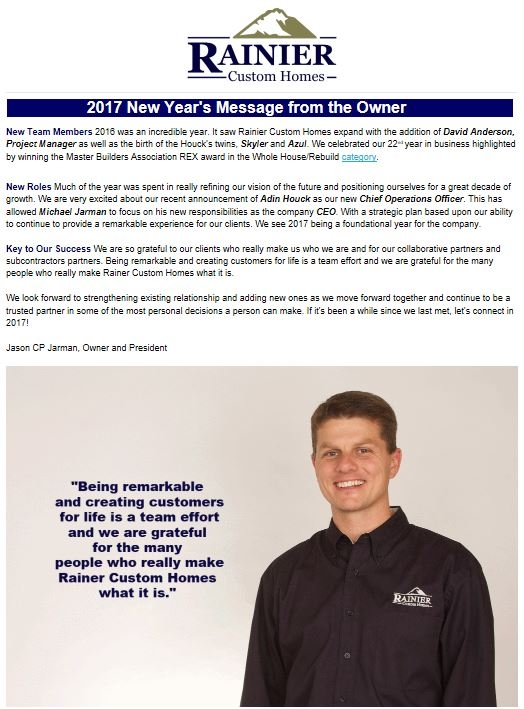 RCH Newsletter Winter 2017